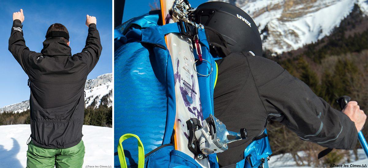 Jaqueta Ultrasonic Flex Strech CimAlp Advanced - Teste de equipamento de montanha ao ar livre