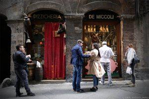 Comer em Siena: Pizzicheria de Miccoli, Siena