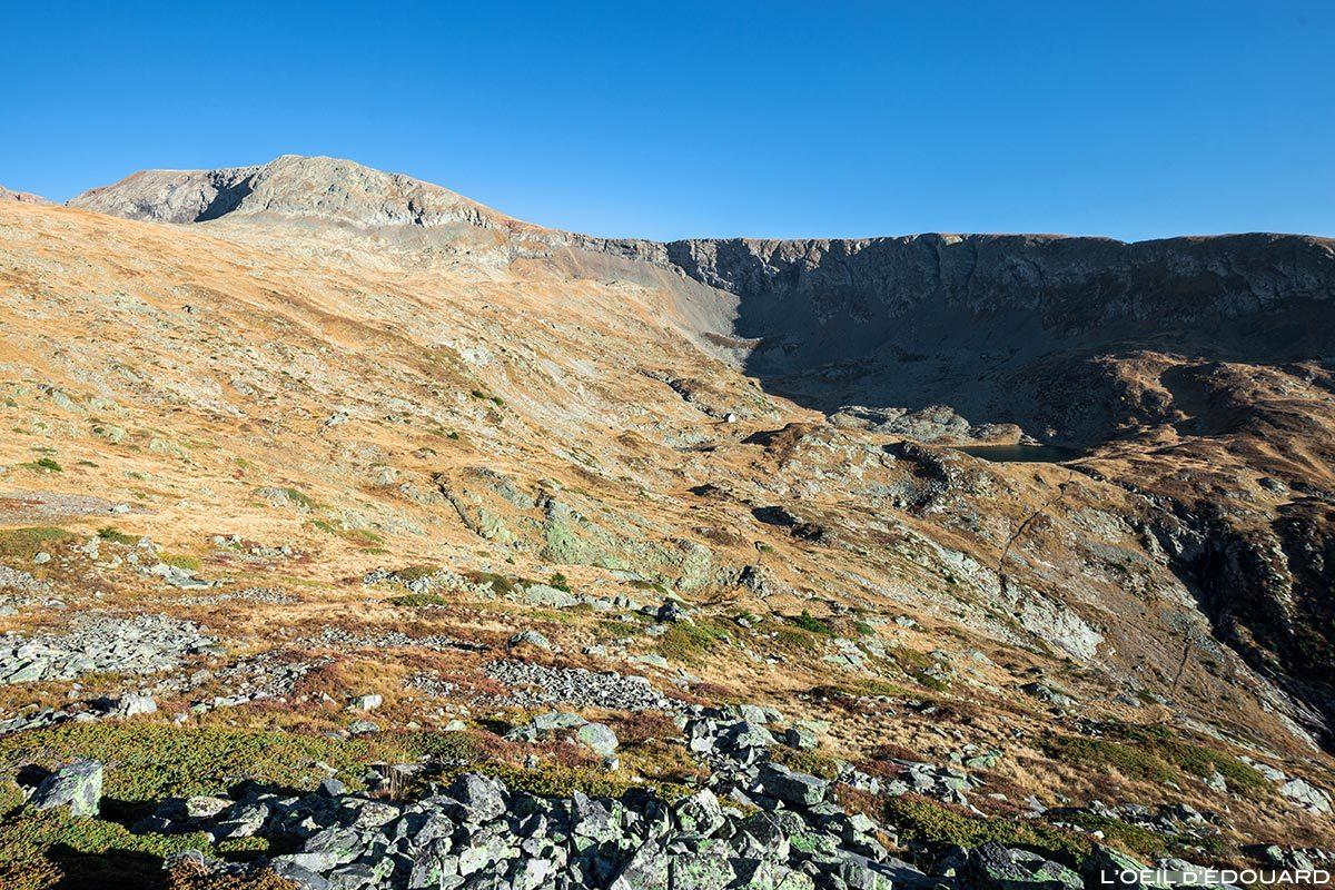 O vale e cume de Brouffier, Massif du Taillefer