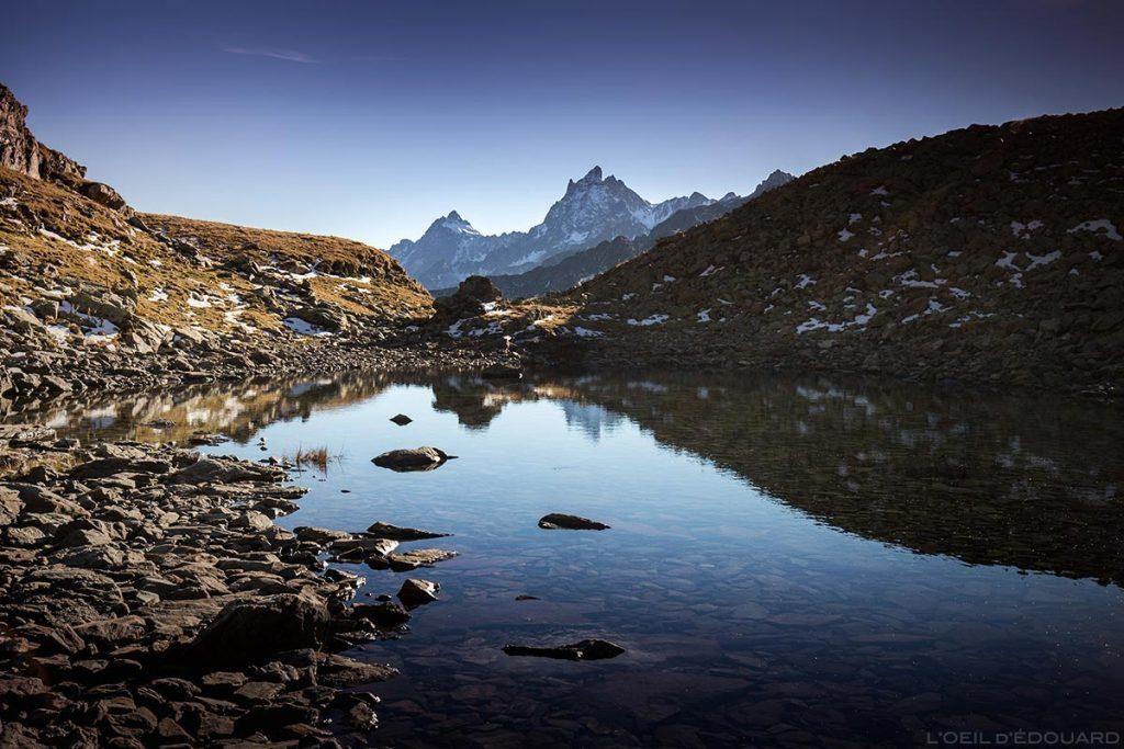 Lac du Vénétier e Grand Pic de Belledonne © L'Oeil d'Édouard