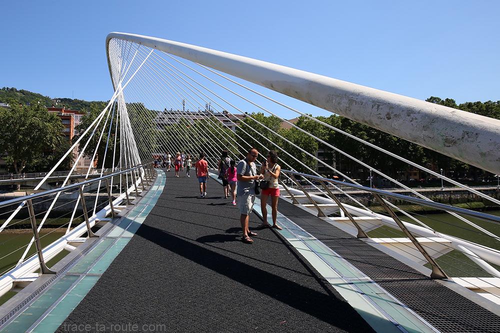 Ponte Zubizuri (Santiago Calatrava) Bilbao