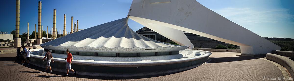 Torre de telecomunicações Montjuïc, Barcelona / Torre de telecomunicações Montjuïc, Barcelona - Arquitetura de Santiago Calatrava