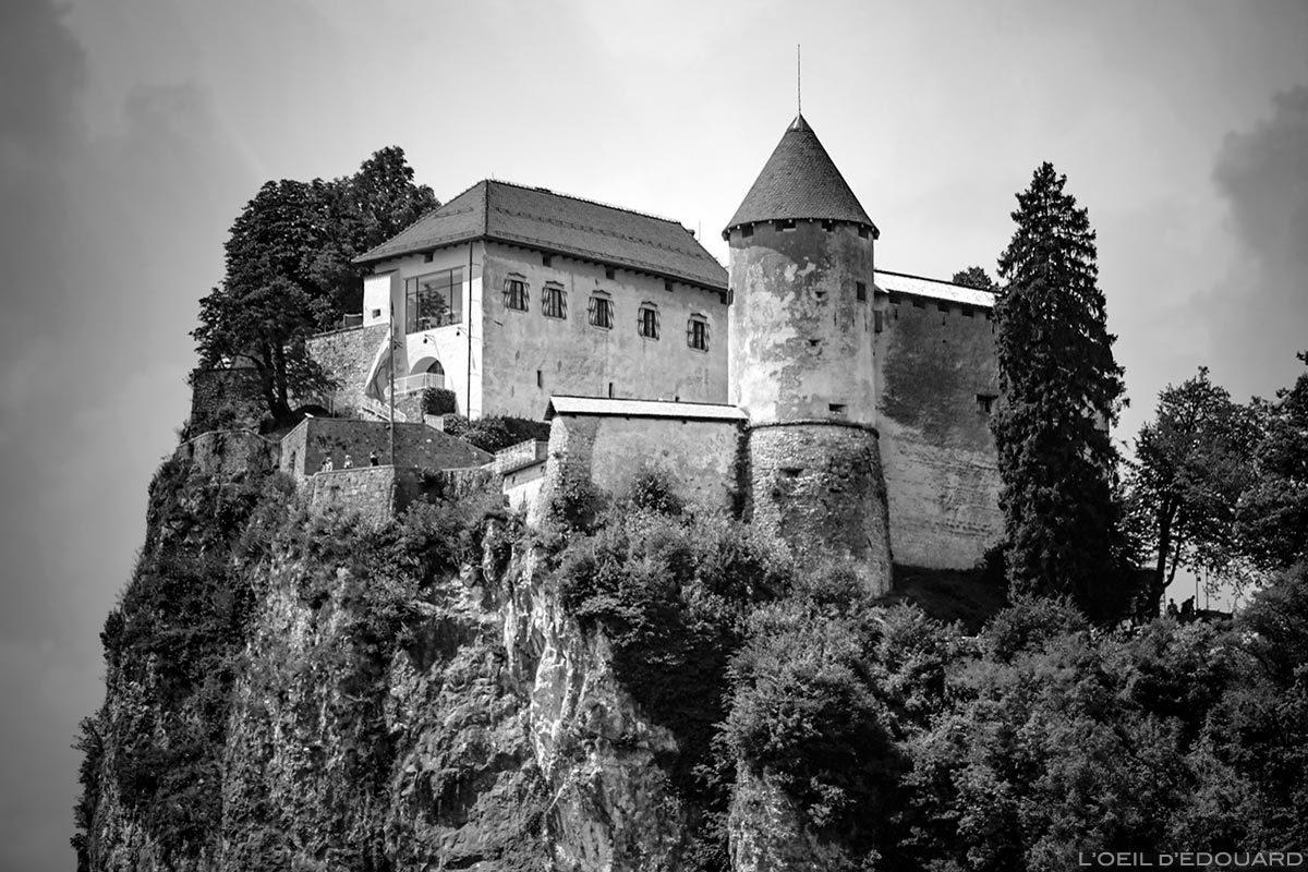 Castelo de Bled, Castelo de Bled, Eslovênia - Lago Bled, Eslovênia Eslovênia