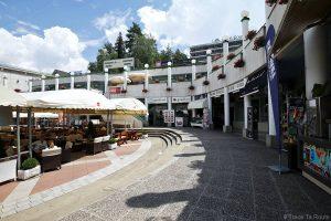 Restaurantes em Bled, Ljubljanska cesta square, Eslovênia (Eslovênia / Eslovênia)