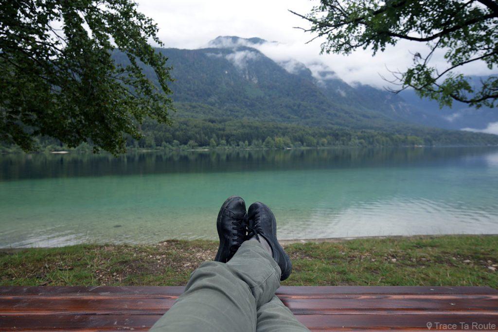 Viajar para a Eslovênia, Lago Bohinj - Lago BBohinj, Eslovênia / Ribčev Laz, Lago Bohinj, Eslovênia