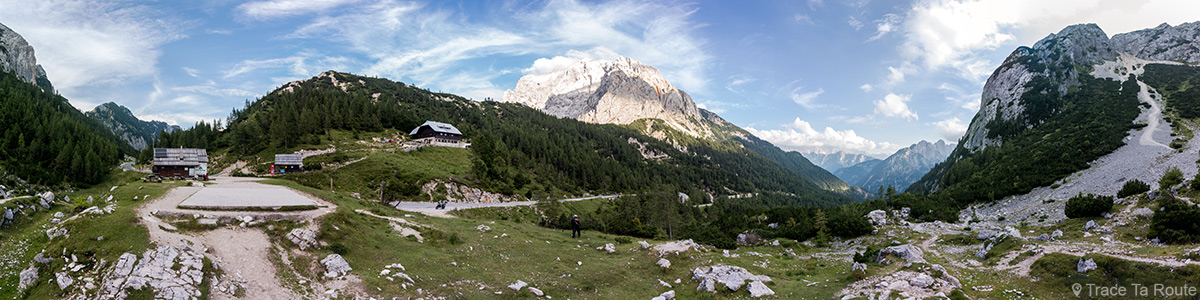 Vršič Pass, Alpes Julianos - Viagem de carro na Eslovênia, Eslovênia