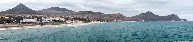 Vila Baleira na ilha de Porto Santo Praia, Ilha da Madeira