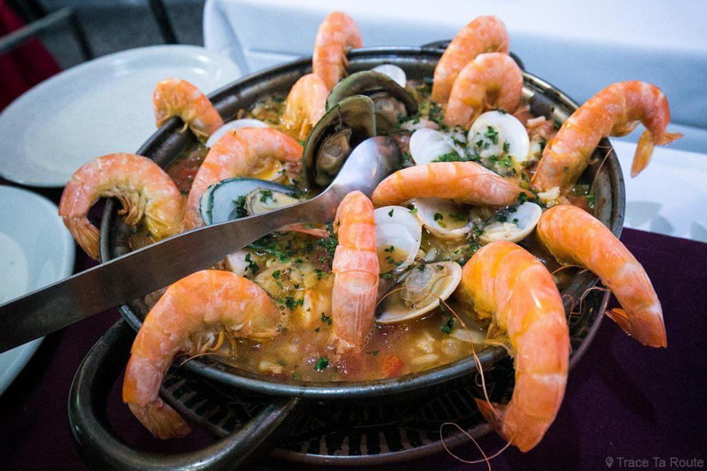 Arroz com marisco - Restaurante O Jango - Rua de Santa Maria, Zona Velha, Funchal, Madeira
