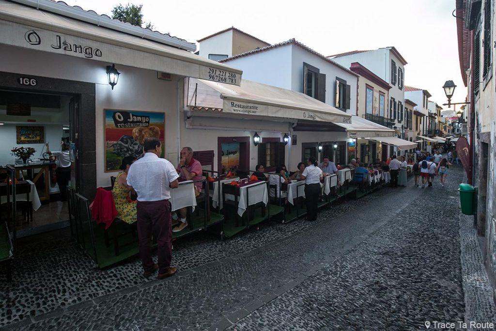 Restaurante O Jango - Rua de Santa Maria, Centro Histórico, Funchal, Madeira