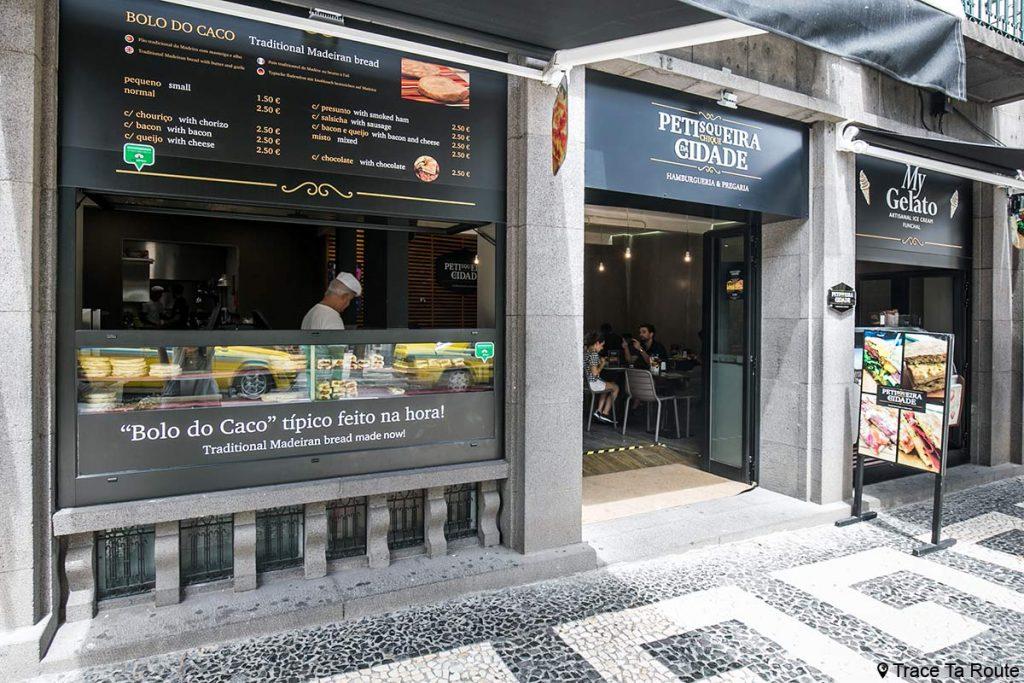 Restaurante no Bolo do Caco Chic City Snack Bar - Funchal, Madeira