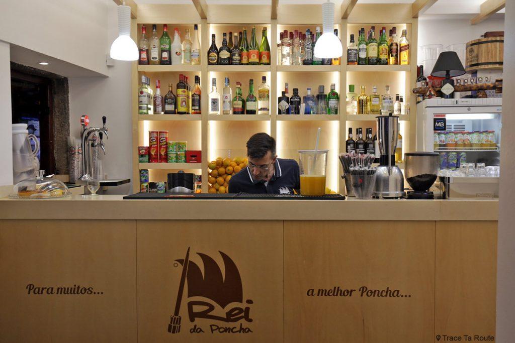 Poncha Bar Rei de Poncha ao Funchal, Madeira