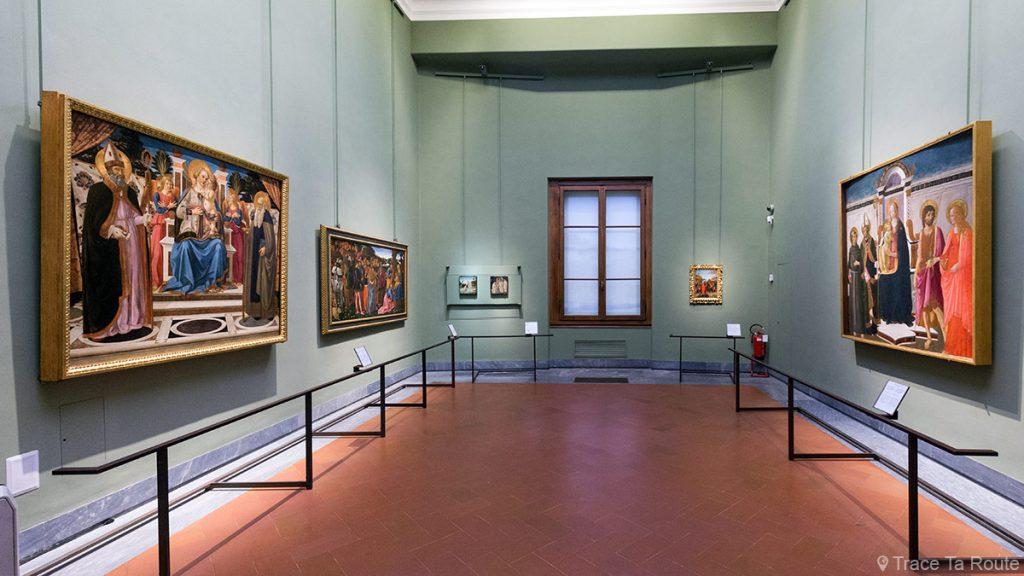 Sala 26 do Florence Museum Gallery Office (Uffizi Gallery em Florença): Cosimo Rosselli