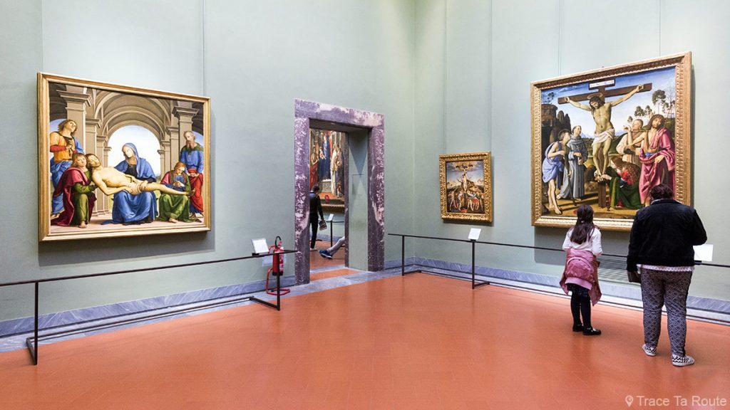 Sala 27 do Museu da Galeria Uffizi em Florença (Galeria Uffizi em Florença): Perugino