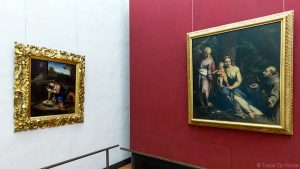 Galeria de pinturas CORREGIO - Museu da Galeria Uffizi em Florença (Galeria Uffizi em Florença)