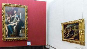 Sala de Pintura PARMIGIANINO - Galeria Office do Museu de Florença (Galeria Uffizi de Florença)