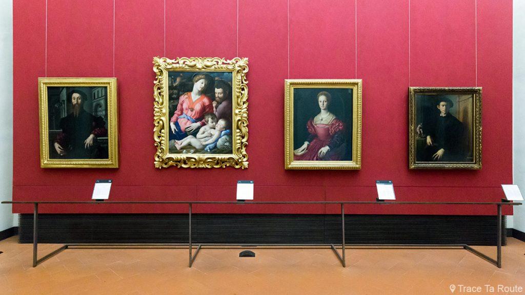 Sala de pinturas BRONZINO - Florence Office Gallery (Florence Uffizi Gallery)