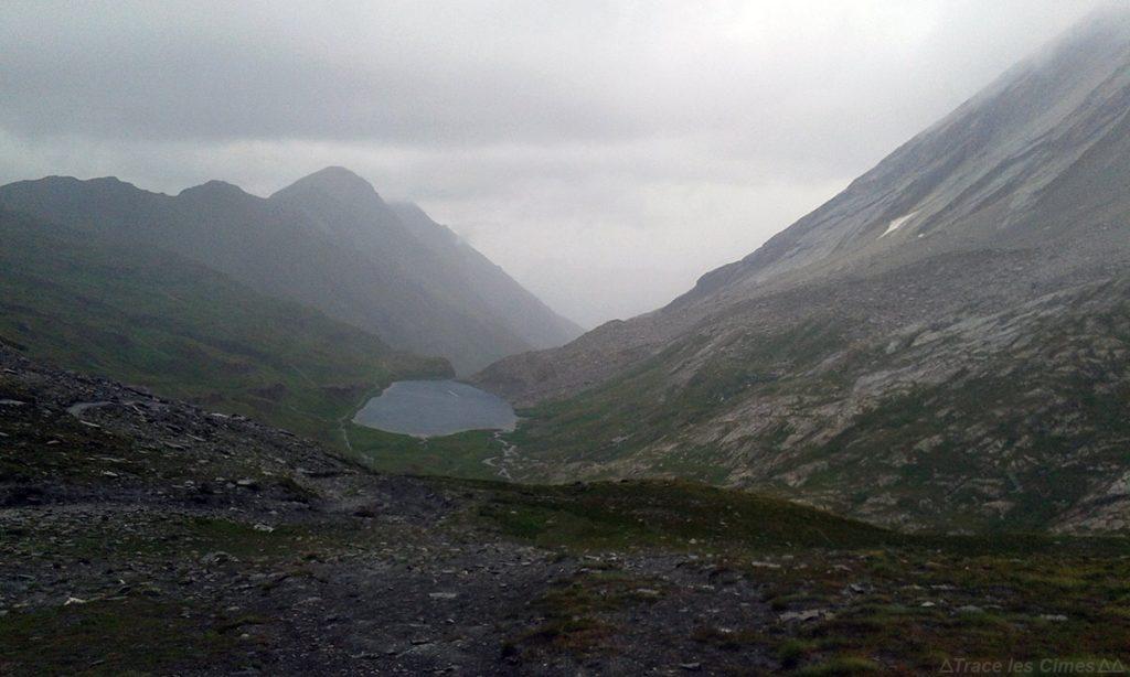 Col Vieux e Lac Foréant, Queyras (Hautes-Alpes) - caminhada na chuva