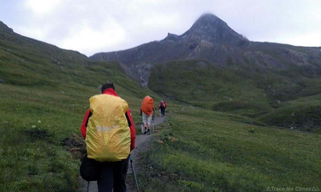 Le Pain de Sucre, Queyras (Hautes Alpes) - Caminhada na chuva