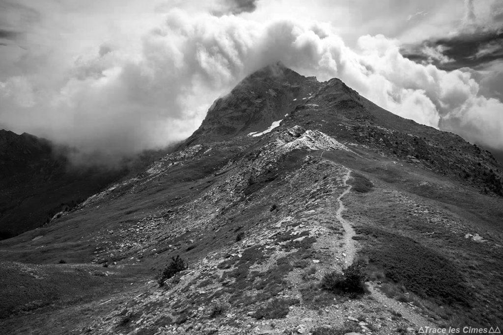 La Tête de Pelvas de La Crête de Peyra Plata - Queyras, Hautes-Alpes