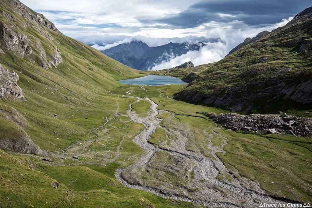Lago Égorgéou, Queyras (Hautes-Alpes) - caminhada na chuva