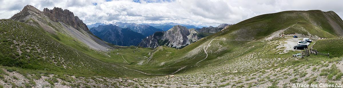 O Col de Furfande - Queyras, Hautes-Alpes