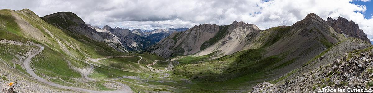 Vallon mapa do Parque Natural Regional de Col de Furfande em Queyras Hautes-Alpes França Paisagem Caminhada na montanha Alpes franceses Paisagem montanhosa Caminhada Caminhada Trekking