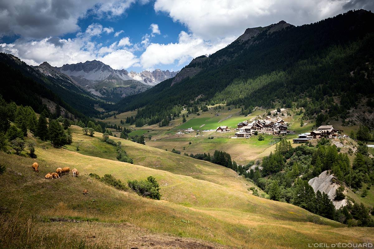 Village des Souliers - Queyras, Hautes-Alpes