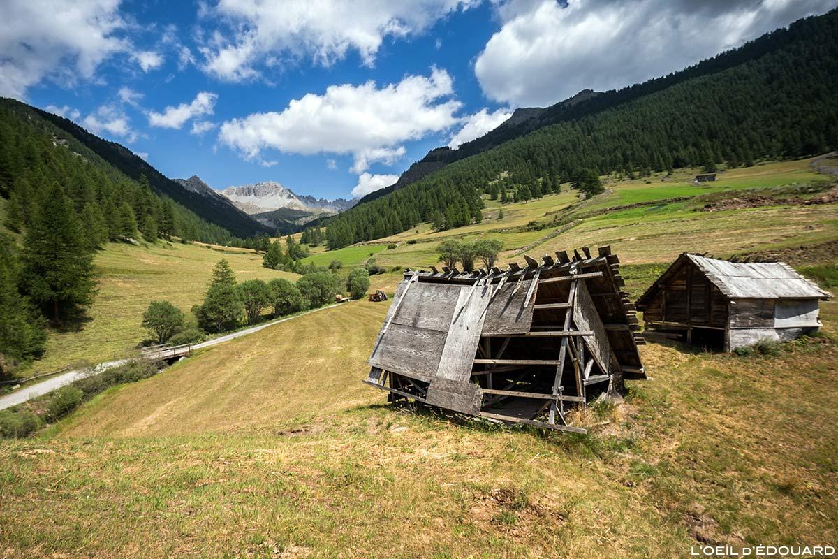 Chalé de madeira na aldeia de Souliers - Queyras, Hautes-Alpes
