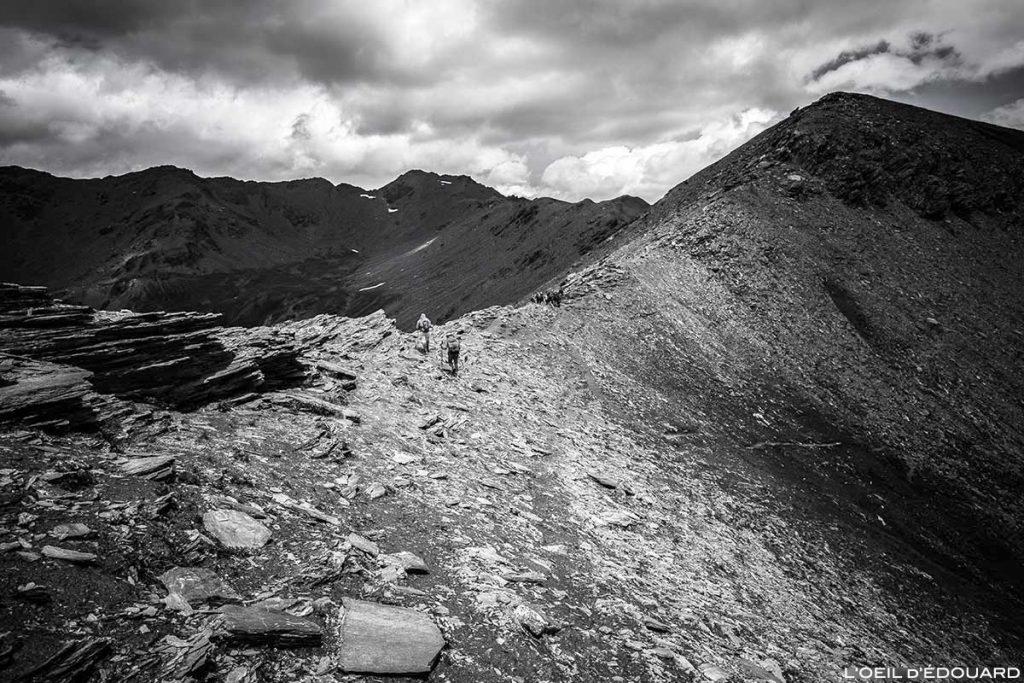 O Col du Petit Malrif e o Pic du Malrif - Tour du Queyras GR 58, Hautes-Alpes