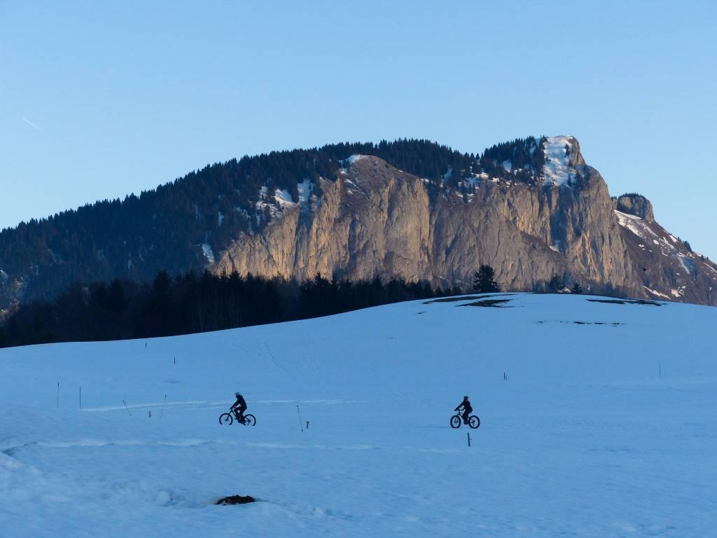 Introdução ao Fat Bike nos Alpes