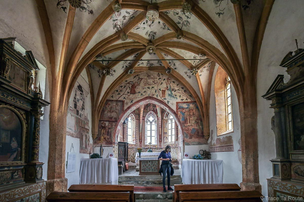Interior da Igreja de São João Batista em Bohinj, Eslovênia - Igreja de São João Batista, Bohinj Eslovênia / Cerkev Sv. Janez Krstnik, Lago Bohinj, Ribčev Laz, Eslovênia