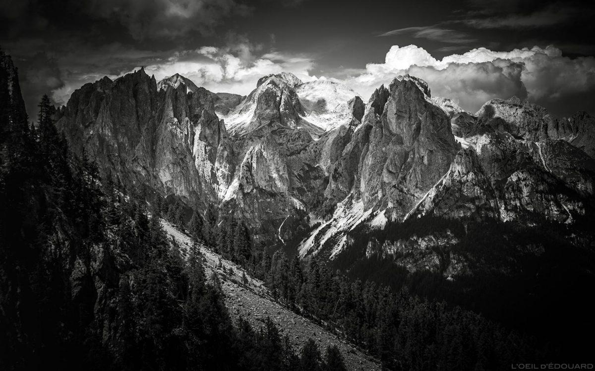 Maciço du Catinaccio, Dolomitas, Itália / Montanha Dolomitas Itália © The Eye of Edward - Todos os direitos reservados