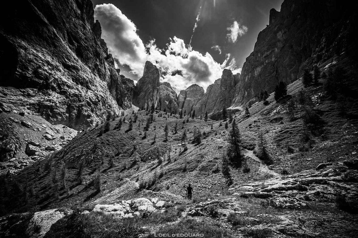 Punta Vallaccia, Zeni Bivouac nas Dolomitas, Itália / Montanhas Dolomitas Itália © O Olho de Eduardo - Todos os direitos reservados