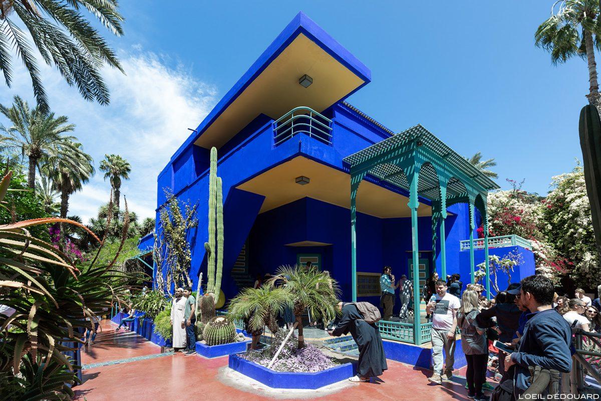 Maison au Jardin Majorelle em Marrakech, Marrocos / Visita a Marrakech Marrocos © L'Oeil d'Édouard - Todos os direitos reservados