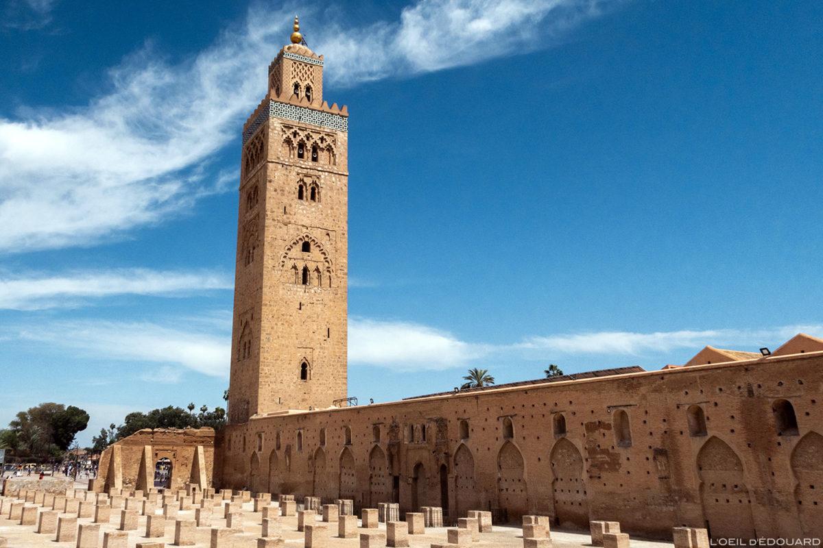 A Mesquita Koutoubia em Marraquexe, Marrocos / Marraquexe Maroc