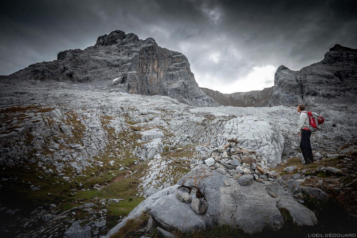 La Pointe Percée por Refuge Gramusset, Aravis / Haute-Savoie © L'Oeil d'Édouard - Todos os direitos reservados