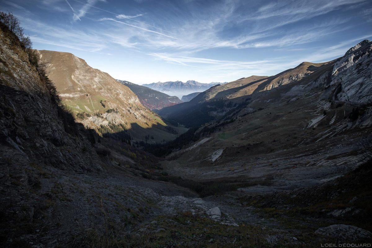 Vallon du Col de l'Oulettaz em Aravis / Haute-Savoie, Alpes