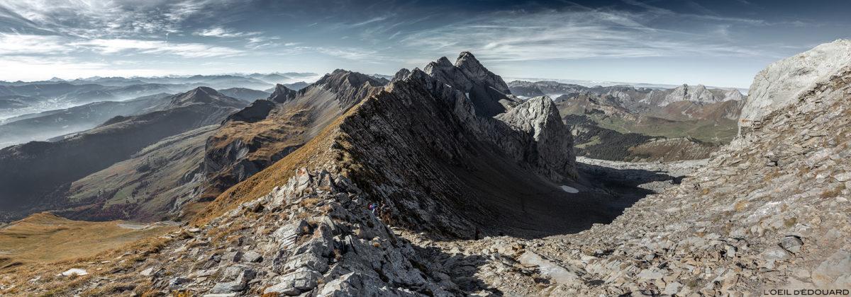 O Col des Verts sob a Pointe Percée, Massif des Aravis / Haute-Savoie © L'Oeil d'Édouard - Todos os direitos reservados