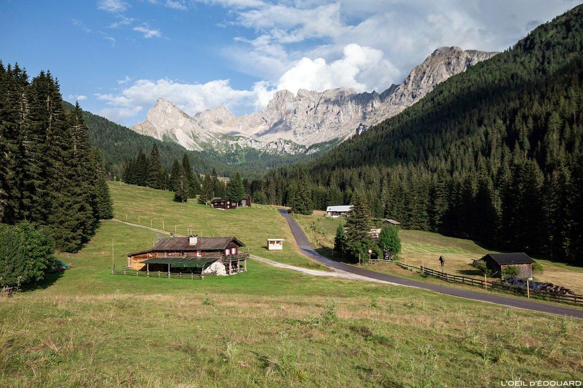 Val San Nicolò - paisagem montanhosa Dolomitas Itália / Dolomitas Itália Itália © L'Oeil d'Édouard - Todos os direitos reservados