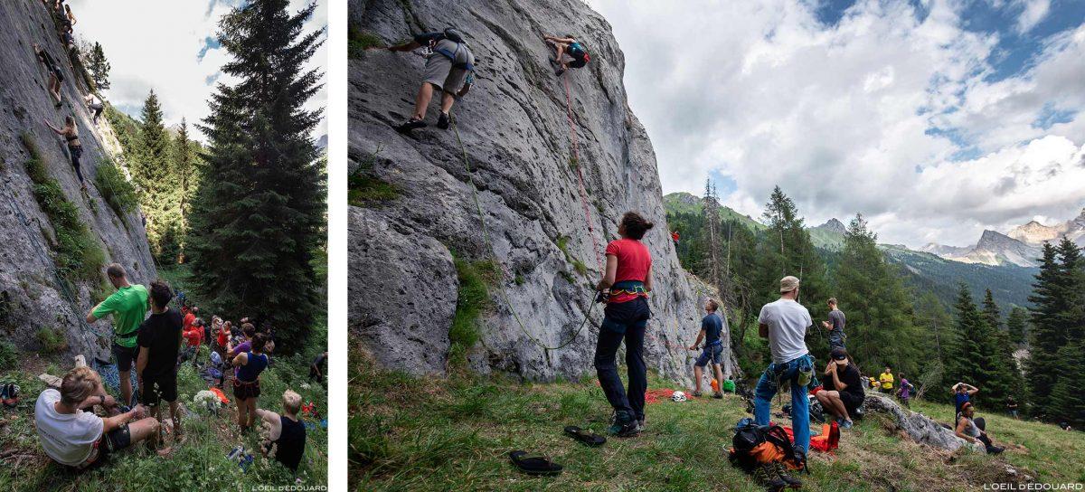 Val San Nicolò - Festival da Montanha da Face Norte 2018 Escalada nas Dolomitas Itália / Escalada Dolomiti Itália Itália