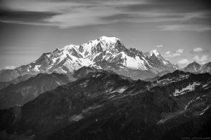 Mont Blanc visto do topo dos Grands Moulins, Belledonne © L'Oeil d'Édouard - Todos os direitos reservados