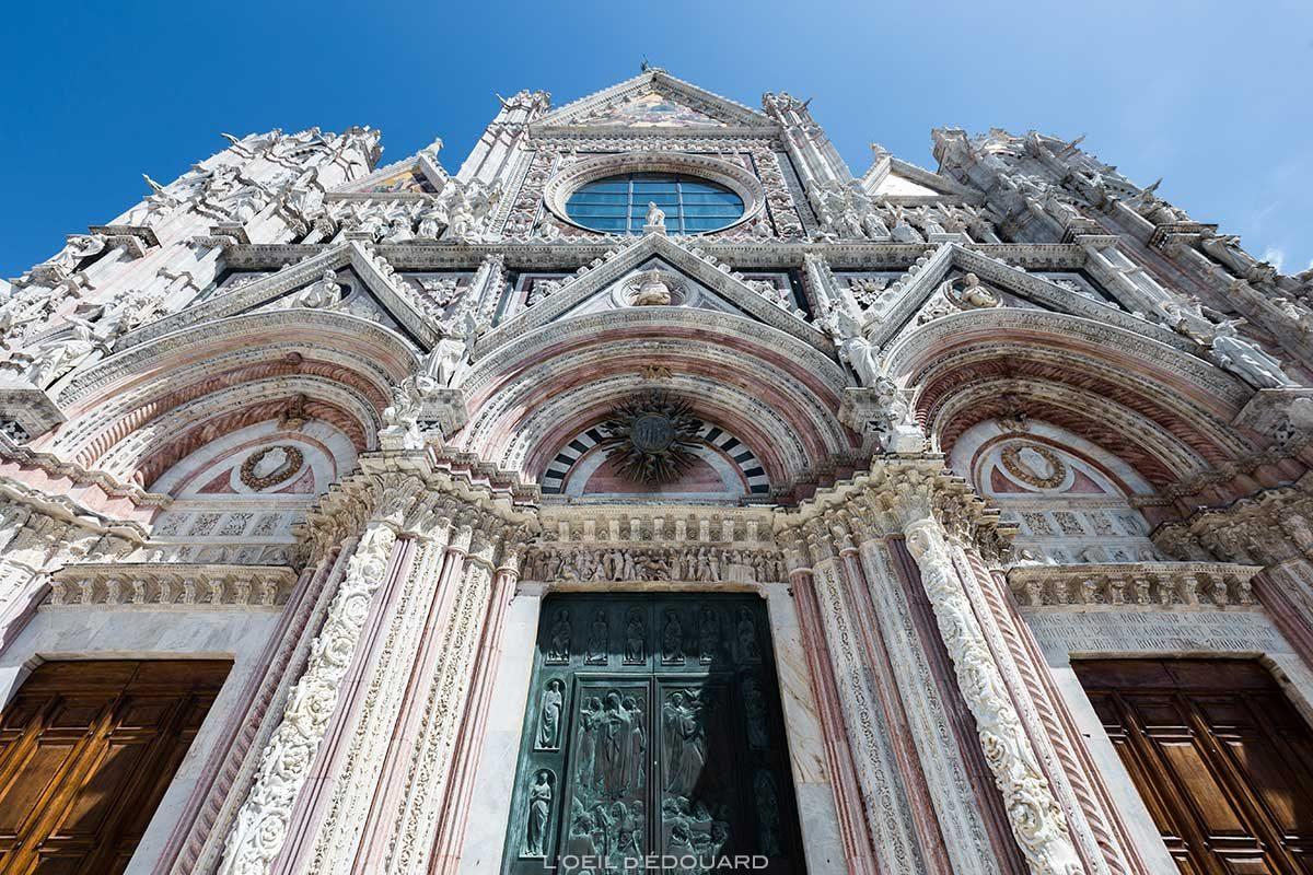 Fachada da Catedral de Siena - Catedral de Siena (Santa Maria Assunta)