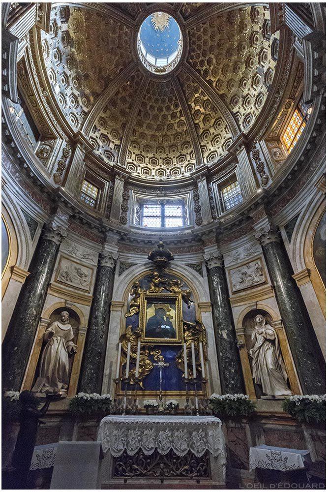 Capela da Virgem do Voto Catedral de Siena - Capela de Nossa Senhora do Voto / Capela Chigi Catedral de Siena (Santa Maria Assunta) - Nossa Senhora do Voto, Dietisalvi di Speme