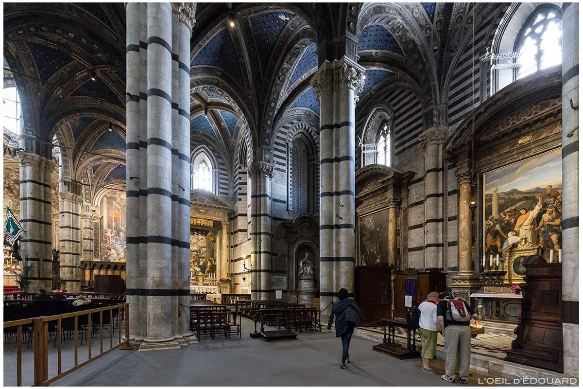 Catedral de Siena - Catedral Interior de Siena (Santa Maria Assunta): Altar do transepto