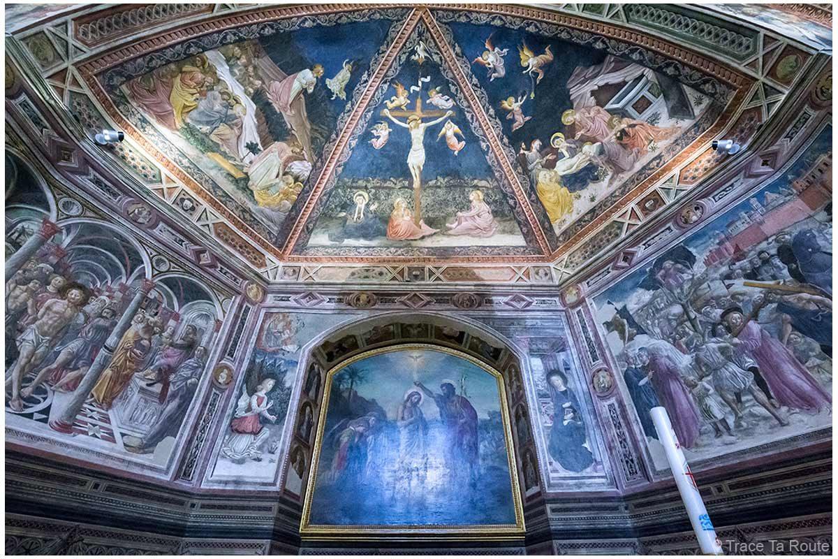 Afrescos internos do Batistério de San Giovanni, Catedral de Siena / Afrescos internos do Batistério de San Giovanni, Duomo OPA Siena
