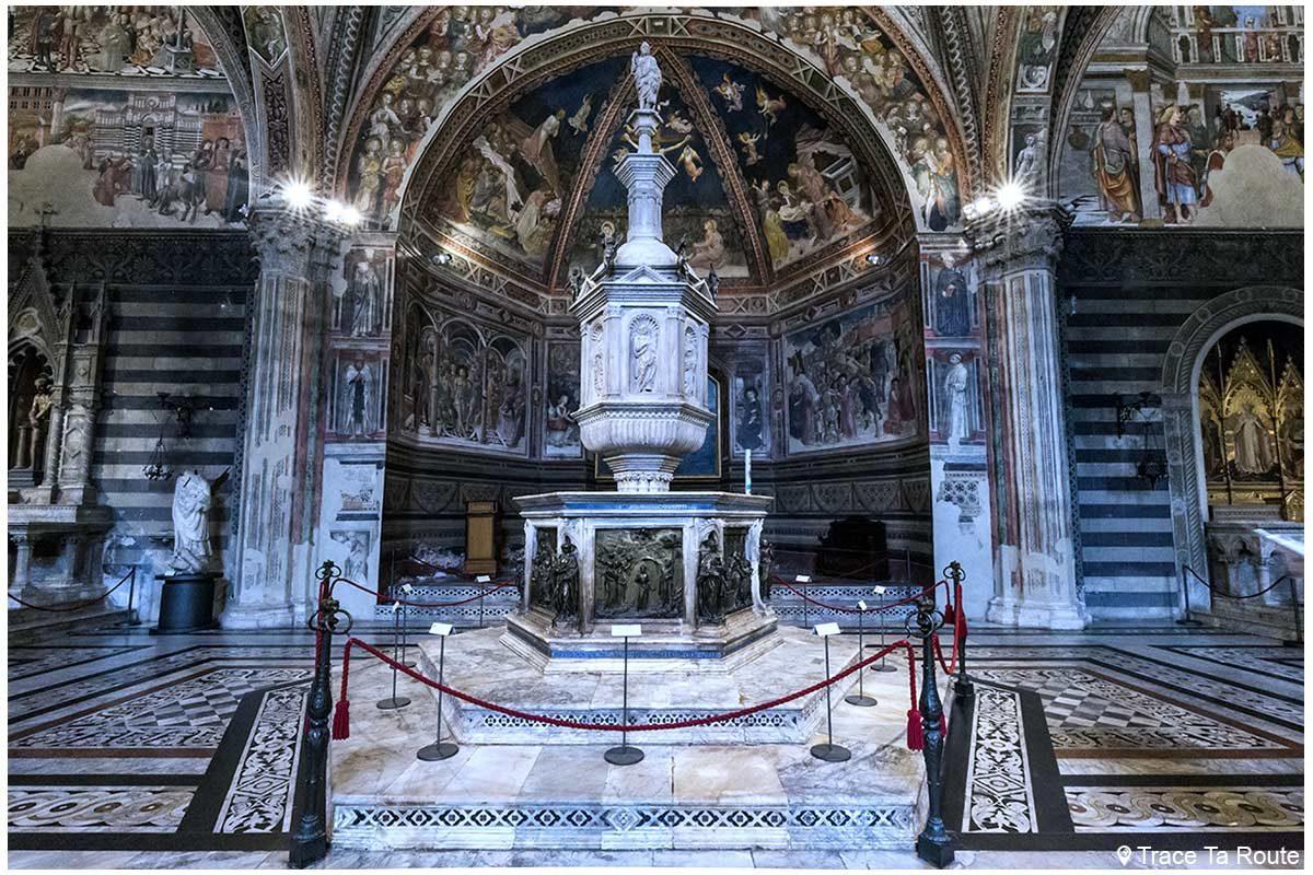 Batistério do Batistério de San Giovanni, Catedral de Siena / Batistério do Batistério de San Giovanni, OPA Duomo Siena