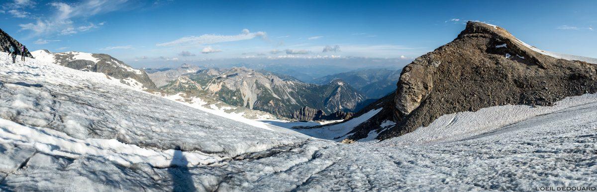Montanhismo: Pointe du Dard na geleira Vanoise