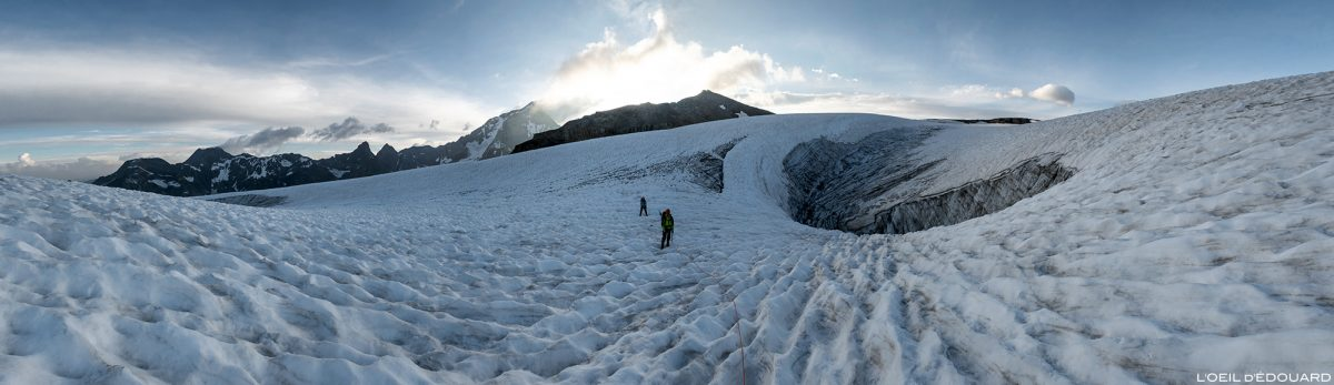 Montanhismo: fenda Roche Ferran, Vanoise