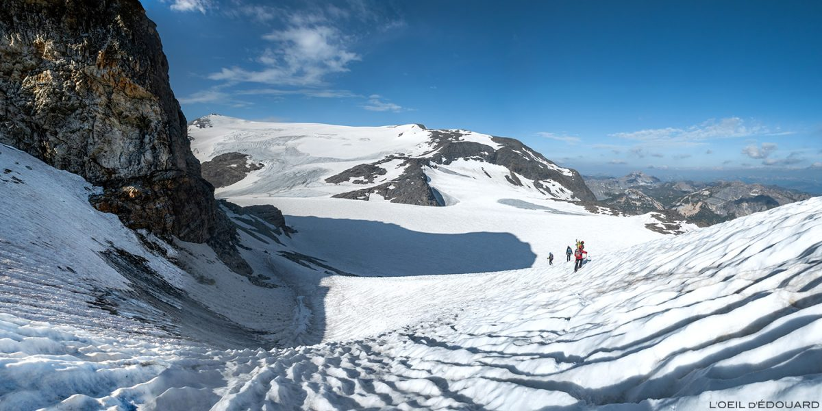 Montanhismo nas geleiras Vanoise
