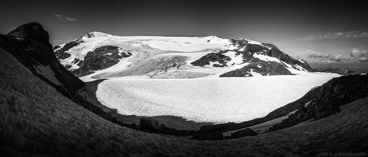 Montanhismo: o glaciar Pelve e o Chasseforêt Dom - Glaciar de la Vanoise